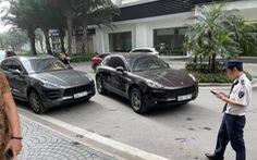 Công an thông báo truy tìm tài xế lái xe Porsche Macan mang biển số giả
