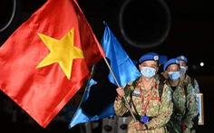 Đoàn quân 'mũ nồi xanh' của Việt Nam từ Nam Sudan đã trở về
