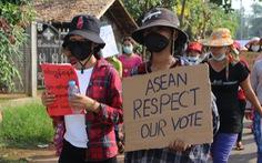 Phe đối lập ở Myanmar: Đồng thuận về Myanmar của ASEAN là tin 'đáng khích lệ'