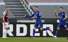Đá bại West Ham, Chelsea nắm lợi thế lớn trong cuộc đua vào tốp 4
