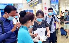 Khách đi lại Tân Sơn Nhất thông thoáng, nhưng cần lưu ý khai báo y tế thế nào?