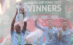 Đánh bại Tottenham, Man City lần thứ 4 liên tiếp vô địch Cúp liên đoàn