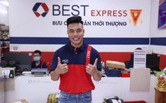 Lê Dương Bảo Lâm chia sẻ trải nghiệm tự tay giao hàng cho fan như 1 shipper thực thụ