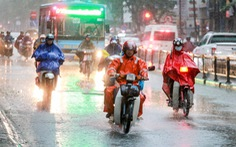 Miền Bắc có mưa lớn cục bộ, Hà Nội đề phòng mưa dông