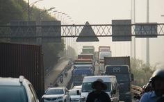 2 nguyên nhân gây kẹt xe trầm trọng ở khu Cát Lái