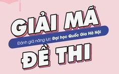 Sách luyện thi đánh giá năng lực vào ĐH Quốc gia Hà Nội trên mạng là thật hay giả?