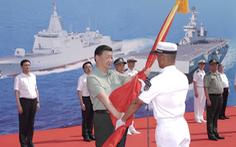 Đưa 3 tàu chiến hiện đại nhất vào biên chế, Trung Quốc lập tức 'giương oai' trên Biển Đông