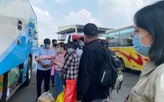 TP.HCM yêu cầu xe khách không đón trả khách ở vùng dịch