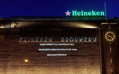 Heineken đặt mục tiêu trung tính các-bon trong sản xuất vào năm 2030