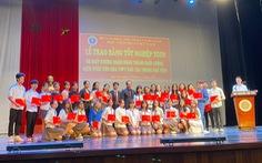 Người học 'trắng tay bằng cấp' đã được Học viện Múa Việt Nam trao bằng