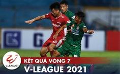 Kết quả, bảng xếp hạng V-League: Viettel vào tốp 4, hai CLB ở TP.HCM xuống nhóm cuối