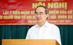 Ông Nguyễn Thiện Nhân: Nếu làm tiếp đại biểu Quốc hội sẽ đưa ý kiến phát triển TP Thủ Đức