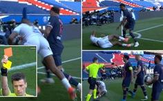 Neymar lại 'gây chuyện' và bị thẻ đỏ, PSG thua 'đại kình địch' Lille