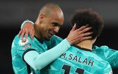 Thắng đậm Arsenal, Liverpool áp sát tốp 4