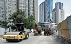 Cuối tháng 4-2021, đường Nguyễn Hữu Cảnh sẽ thoát cảnh ngập nước 18 năm nay?