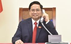 Thủ tướng Phạm Minh Chính điện đàm với thủ tướng Lào, Campuchia