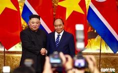 Chủ tịch Kim Jong Un chúc mừng Chủ tịch Nguyễn Xuân Phúc