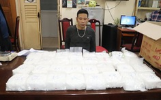 Triệt phá đường dây buôn ma túy liên tỉnh, thu gần 60kg