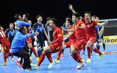Đội tuyển futsal Việt Nam hi vọng lần thứ 2 có mặt tại World Cup