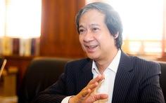 Tân Bộ trưởng Bộ GD-ĐT Nguyễn Kim Sơn: 'Tôi mong đời sống người thầy được cải thiện'