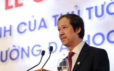 Bộ trưởng Bộ GD-ĐT Nguyễn Kim Sơn được bổ nhiệm chủ tịch Hội đồng Giáo sư nhà nước