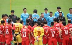 Tuyển Việt Nam đá giao hữu với tuyển Jordan tại UAE