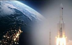 Video mảnh vỡ tên lửa Trường Chinh 5B của Trung Quốc rơi xuống Trái đất