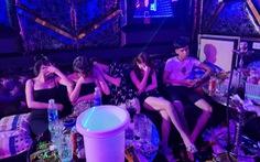 33 nam thanh nữ tú tụ tập chơi ma túy, hát hò tưng bừng giữa mùa dịch