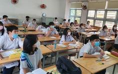 Nhiều trường ở TP.HCM tách lớp dạy ôn trực tiếp cho học sinh lớp 9