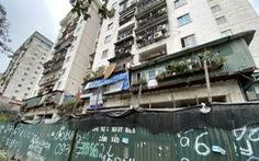 Chung cư tái định cư Hà Nội xây xong bỏ hoang nhiều năm