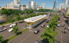 Tháng 9-2021 khởi công xây dựng tuyến xe buýt nhanh BRT đầu tiên ở TP.HCM