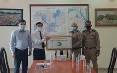 Hỗ trợ vật tư y tế sau sự cố lây nhiễm COVID-19 trong trại giam ở Campuchia