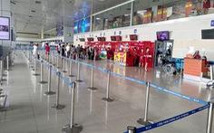 Tạm dừng khai thác sảnh E nhà ga T1 Nội Bài vì vắng khách