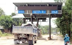 Bắt đầu thu phí trạm BOT đường vào mỏ đá Tân Cang