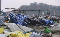 Lốc xoáy vùi dập hai thành phố Trung Quốc