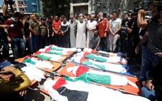 Gia đình 10 người Palestine chết thảm vì tên lửa Israel