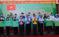 Lãnh đạo TP.HCM trồng cây nhân kỷ niệm 131 năm ngày sinh Bác Hồ