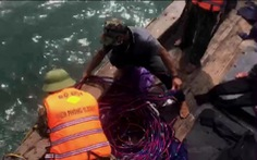 Tàu cá Quảng Ngãi dùng kích điện tận diệt hải sản trên vùng biển Quảng Bình
