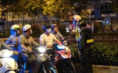 Cảnh sát giao thông tăng cường xử phạt vi phạm phòng chống dịch COVID-19