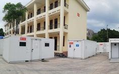 'Thần tốc' dựng trung tâm xét nghiệm dã chiến ở Bắc Giang sau 1 đêm