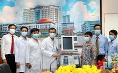 Bệnh viện Đồng Nai nhận 2 máy thở cao cấp phòng chống COVID-19