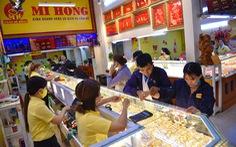 Giá vàng tăng mạnh, lên 56,4 triệu đồng/lượng