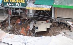 Hà Nội: 'Hố tử thần' ở xã Quảng Bị đã được lấp đầy