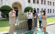 Angkormilk tặng 48.000 sản phẩm sữa hỗ trợ người dân 'vùng đỏ' trong dịch COVID-19