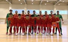 Tuyển futsal Việt Nam hạ Iraq 2-1