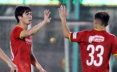 Tuyển Việt Nam thắng đội U22: Công Phượng ghi bàn, Văn Hậu được thi đấu