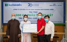 Khang Điền tài trợ chương trình phẫu thuật mắt cho 1.000 bệnh nhân