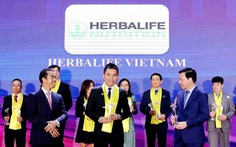 Herbalife Nutrition tiếp tục được trao danh hiệu 'Thương hiệu thực phẩm bổ sung dinh dưỡng hàng đầu'