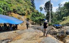 Bộ Quốc phòng giao công binh đánh sập hầm, lò khai thác vàng trái phép ở Quảng Nam