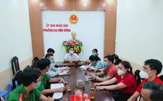 Chủ tịch phường họp để trợ giúp bốn bà cháu nghèo khổ